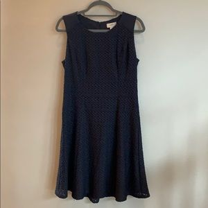 LOFT Navy Sleeveless Dress